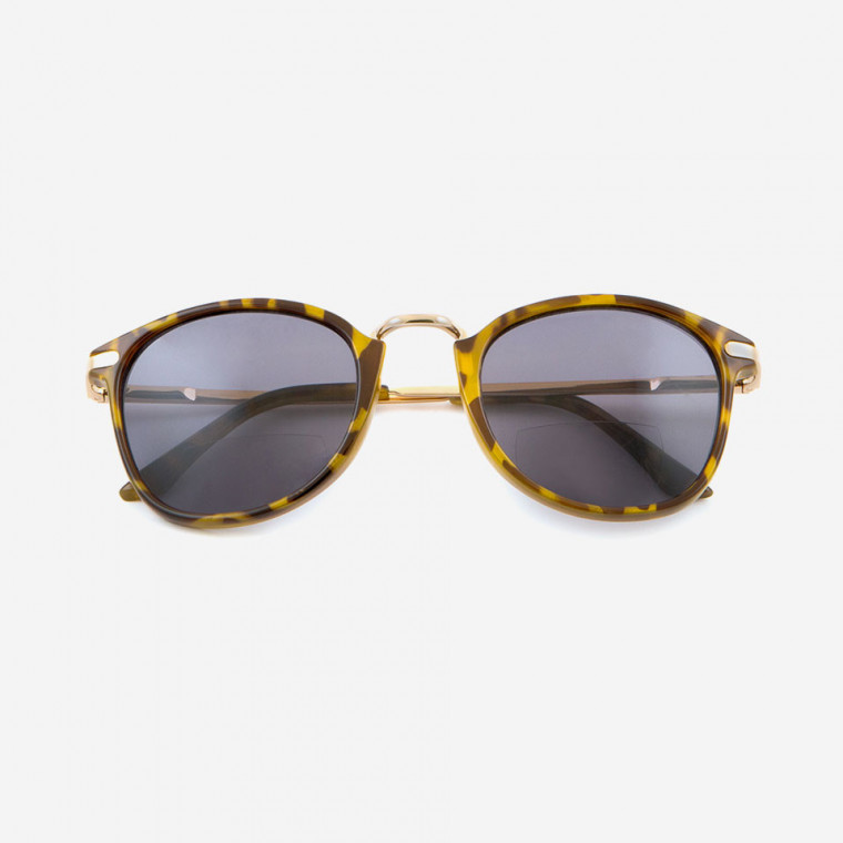 PSB0002 READING SOLARE CON LUNETTA Green-Tortoise